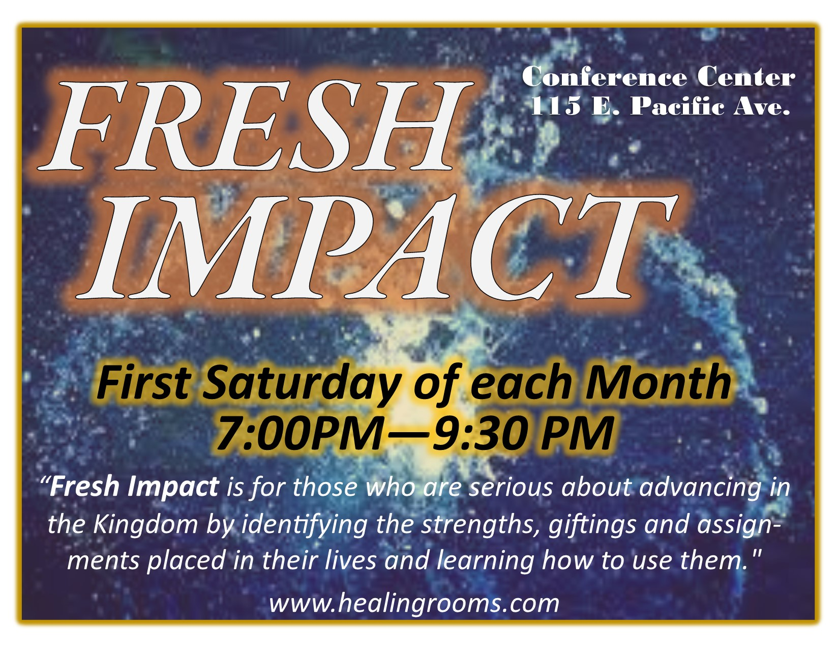 Fresh Impact poster