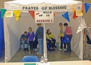 Prayer of Blessing tent