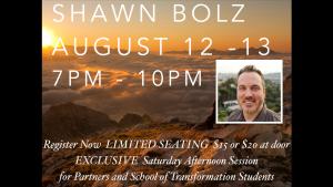 Shawn Bolz 2016 ad