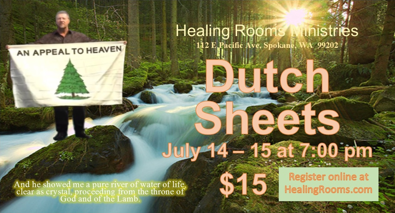 Healing Rooms Upcoming Events