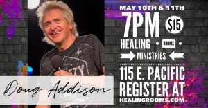 Doug Addison May 10th-11th, 2019