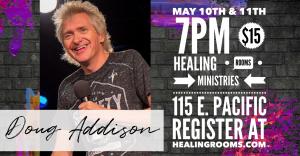 Doug Addison May 10th-11th, 2019