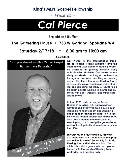 Healing Rooms - Event Details