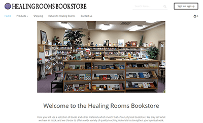 Bookstore Landing Page