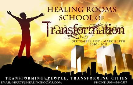 Healing Rooms School of Transformation