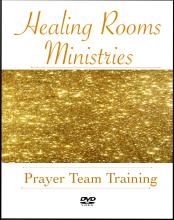Healing Rooms Prayer Team Training DVD